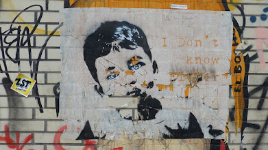 Photo: Paste-Up; VAN RAY. I Don't Know Either