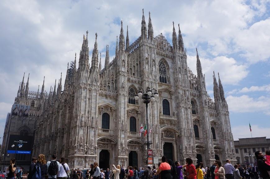 Duomo in Milan, Italy (2015)