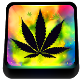 Colored Rasta Weed Keyboard