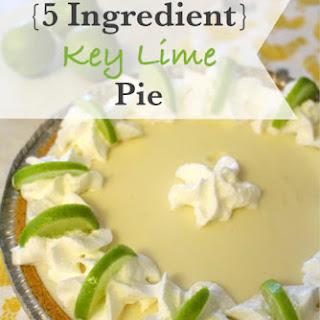 5 Ingredient Key Lime Pie