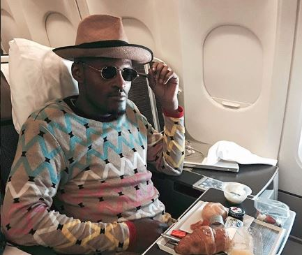 WATCH | Designer Laduma jamming to Maphorisa's 'Phoyisa' next to a New York police van is a vibe - SowetanLIVE