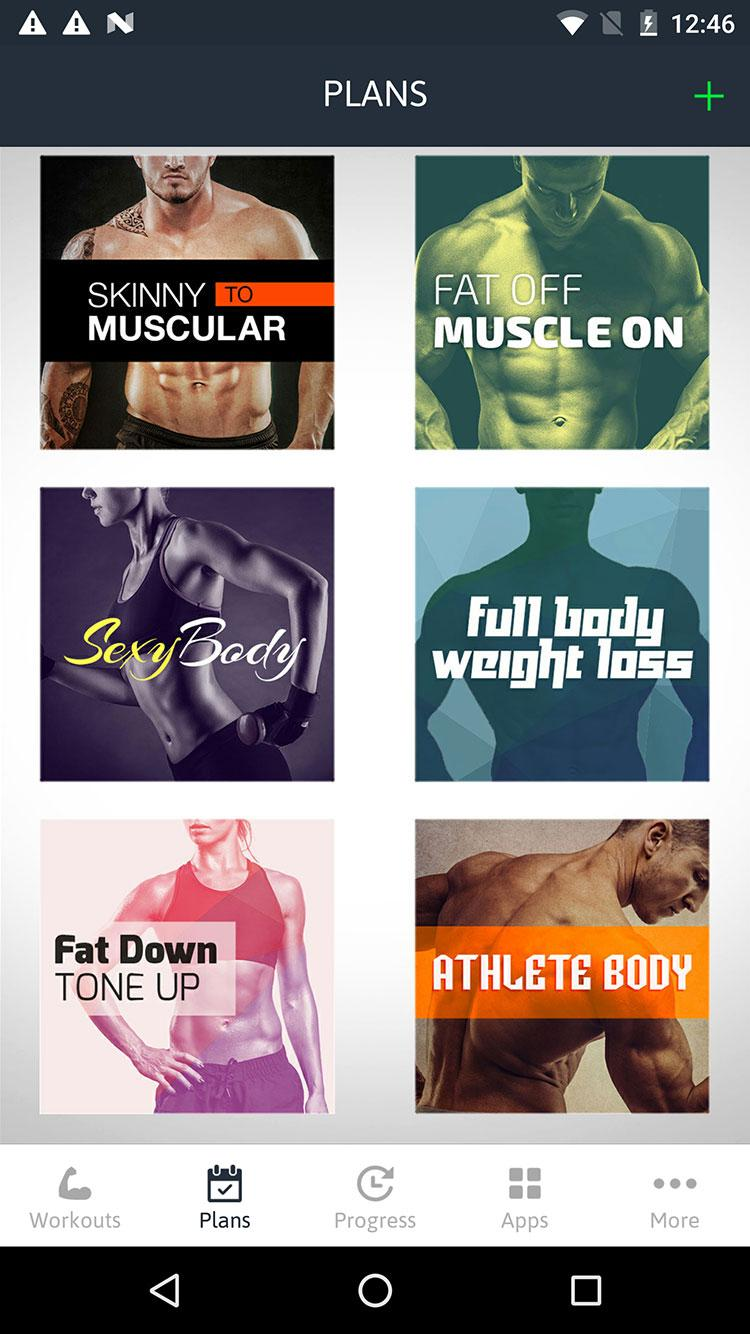 Home Workouts Personal Trainer Screenshot 1