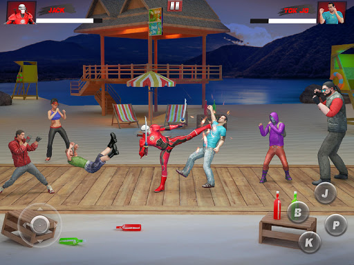 Ninja Superhero Fighting Games: City Kung Fu Fight 5.9 screenshots 9