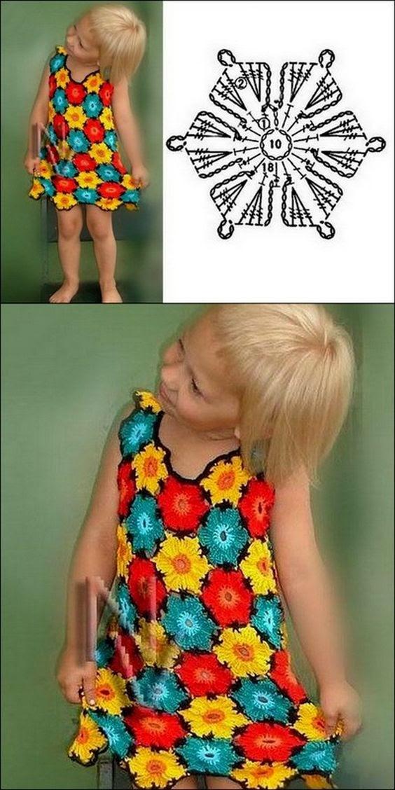 цветущее поле на платье