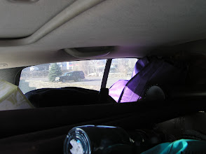 Photo: And the passenger side window