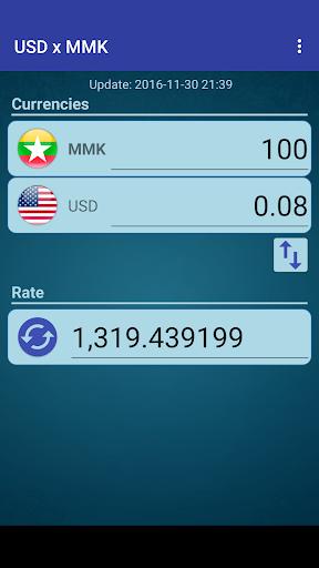 Us Dollar To Myanmar Kyat Screenshot 2