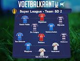 Ons team van speeldag 2 in de Super League: Anderlecht, Gent, Genk, OH Leuven en Standard met minstens twee vertegenwoordigd