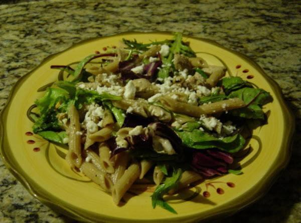 Chicken And Feta With Spring Mix Recipe