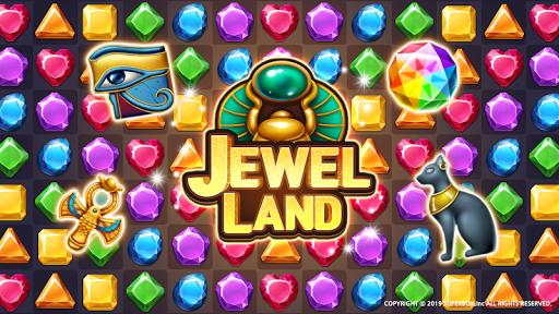 Jewel Land : Match Masters 1.0.1 Mod screenshots 1
