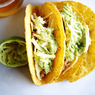 Chicken Tacos with Guacamole