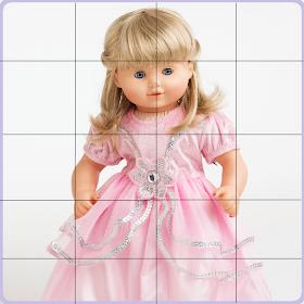 Кукла платья головоломки