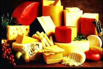 Photo: Cheese galore!