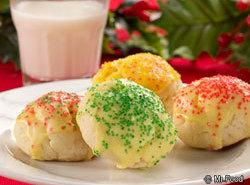 Mrs. Claus' Lemon Cookies Recipe