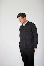 Photo: Charcoal wool chore coat