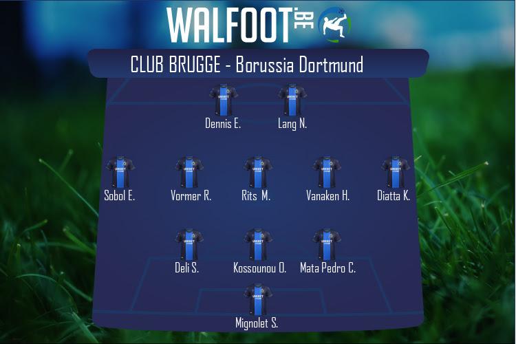 FC Bruges (FC Bruges - Borussia Dortmund)