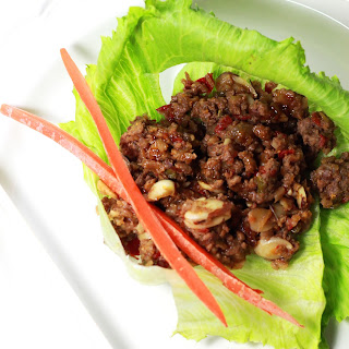"""Biggest Loser"" Asian Lettuce Wraps."