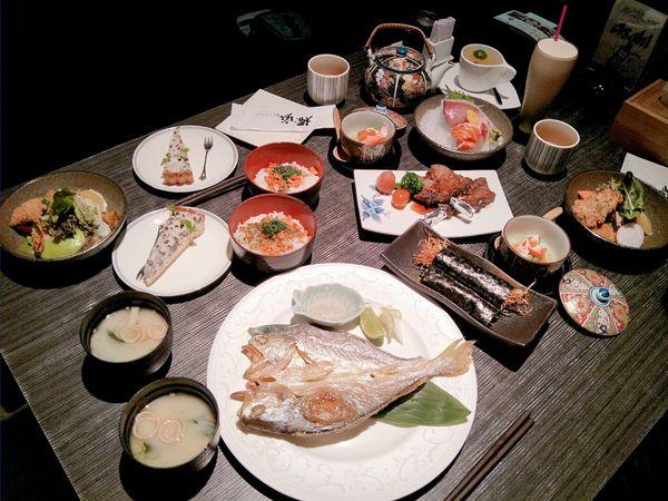 橙家新日本料理︱賞味午膳套餐︱高CP值日本料理