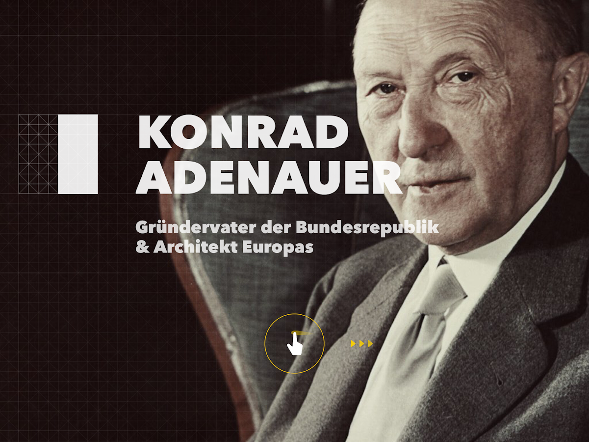 Konrad Adenauer – Screenshot