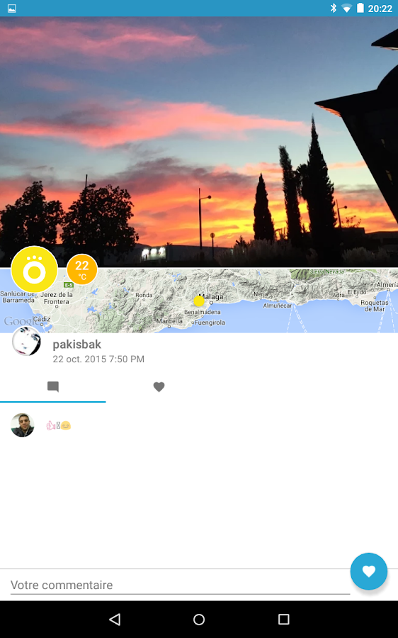 wezzoo - Weather By You- screenshot