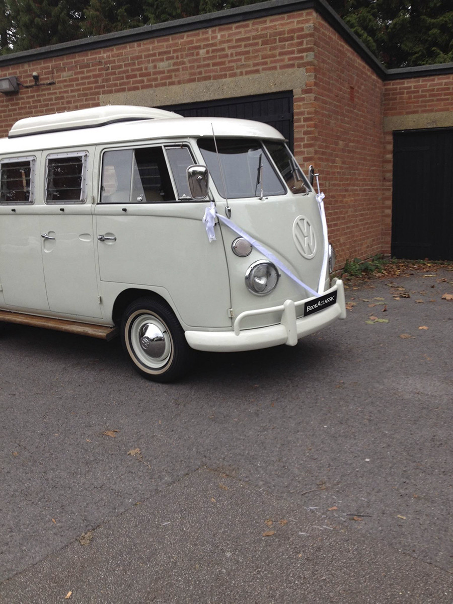 Volkswagen Split Screen Camper Van Hire London