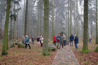 Photo: Pomnik Armii Krajowej i Krąg Pamięci Ruchu Oporu i Walki Wielkopolski lat 1939-45 w lesie pod Janowem