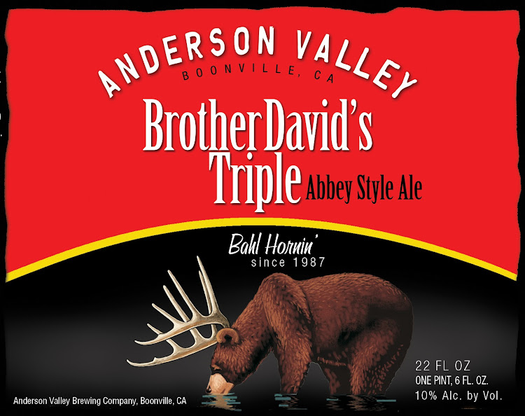 Logo of Anderson Valley Brother David's Tripel