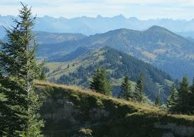 Blick in die Allgäuer Alpen Allgäu