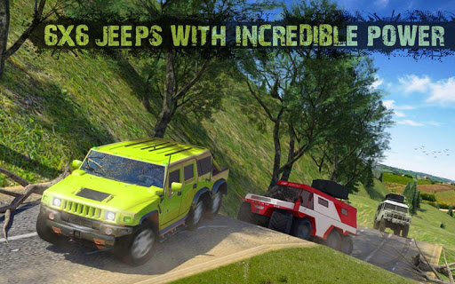 8x8 Offroad Mud Truck Spin Tires: Trucker Games 18 apktram screenshots 8