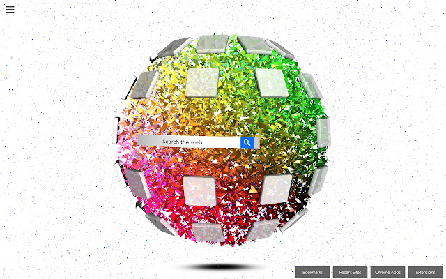 Globe - Your 3D Homepage