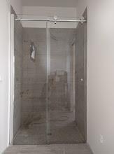 Photo: douchewand badkamer 1