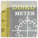Diskometer - camera measure icon