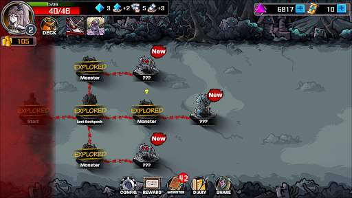 Lophis Roguelike:Card RPG game,Darkest Dungeon 1.3.2 screenshots 1