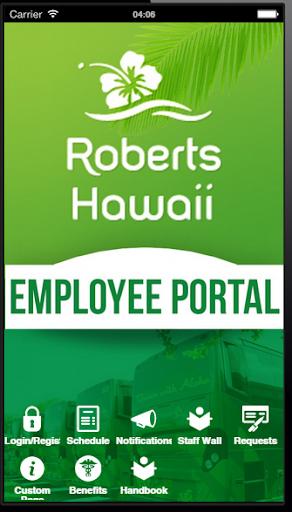 Roberts Hawaii Employee Portal