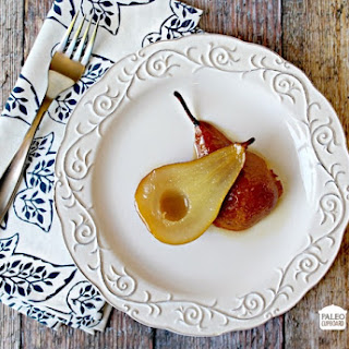 Paleo Baked Pears