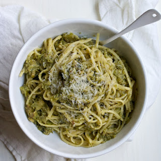The Best Broccoli Linguine