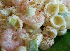 Shrimp Scampi Pasta Salad Recipe