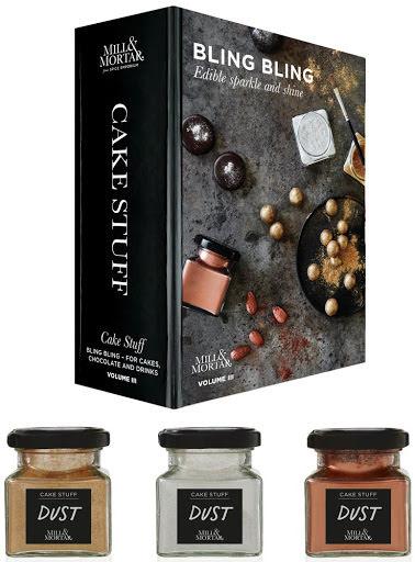 Bling bling – Guld, Silver, Bronze ätbart pulver - Mill & Mortar