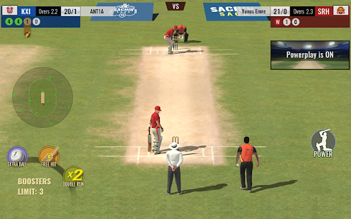 Sachin Saga Cricket Game Screenshot