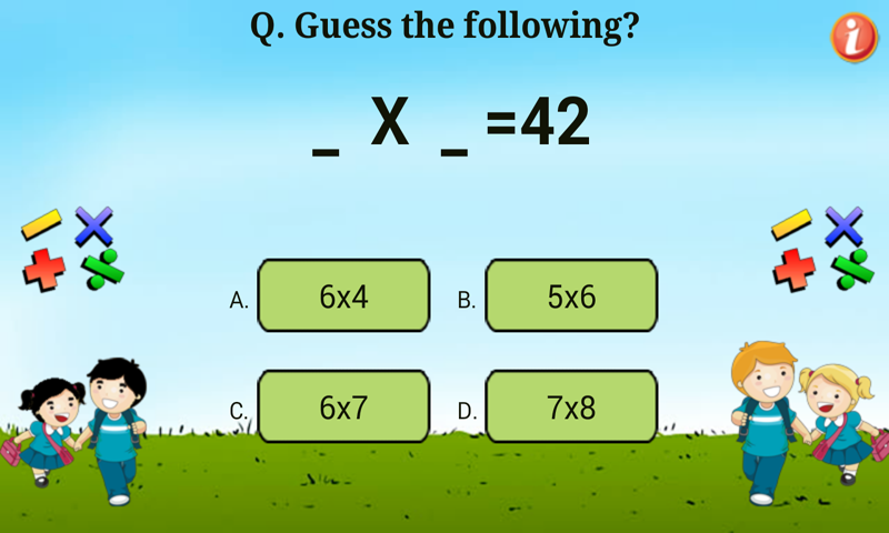 Table Quiz- Learn Tables- screenshot