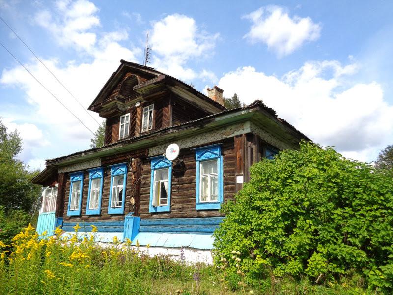 Ивановская область: глухая деревянная резьба, Введенье, Ново-Талицы.