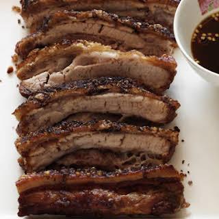 Crispy Five Spice Pork Belly.