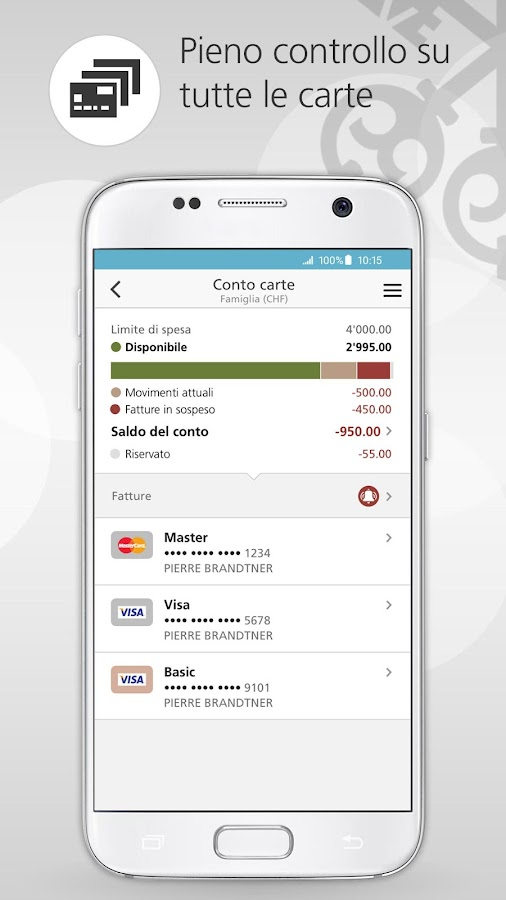 UBS Mobile Banking- screenshot