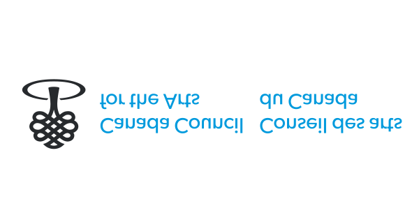 Canada Council logo reversed upside down