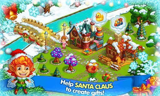Farm Snow: Happy Christmas Story With Toys & Santa 1.48 screenshots 5