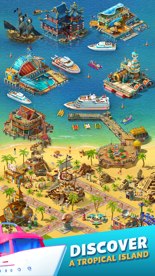paradise island 2 hotel game android apps on google play. Black Bedroom Furniture Sets. Home Design Ideas