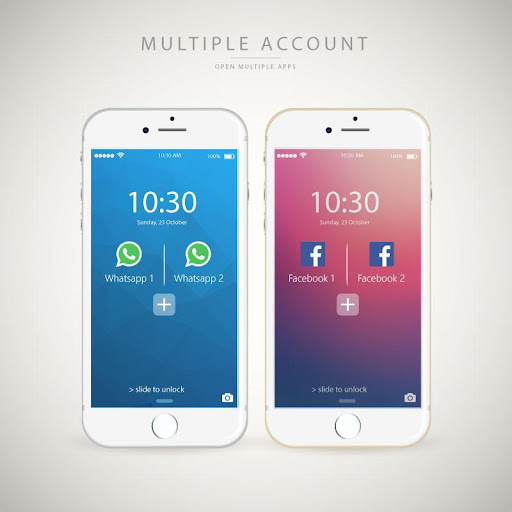 multiple account clone app 1.7.8 screenshots 2