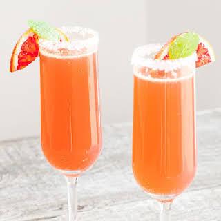 Cointreau Fizz Blood Orange Cocktail.