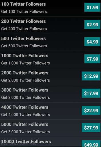 Tweet Followers for Twitter