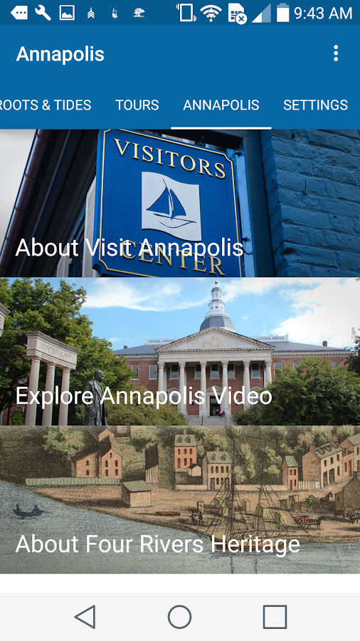 Annapolis Driving Tours- screenshot