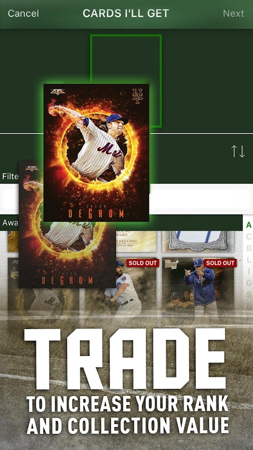 MLB BUNT: Baseball Card Trader - Android Apps on Google Play
